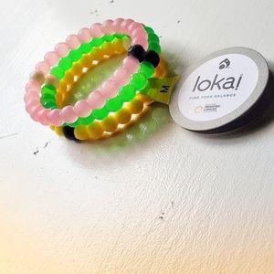 Lokai bracelets set for 15.00
